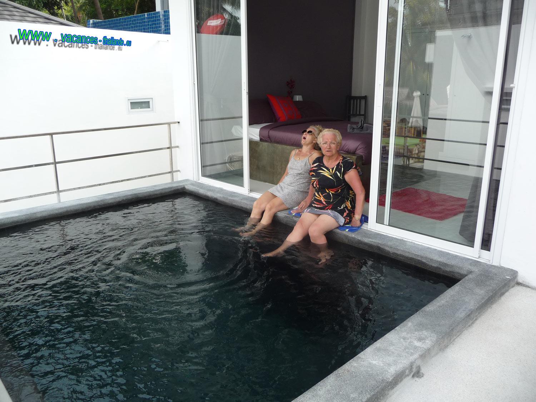 vacances-thailande, photo 15 maison louée avec piscine privée ...